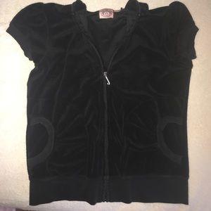 *SALE* Juicy Couture short sleeve hoodie