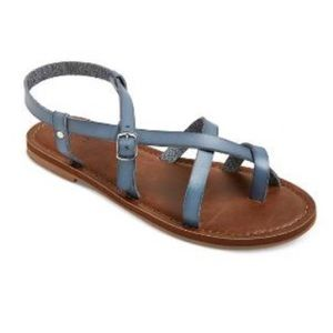 Target Brown Strappy Sandals