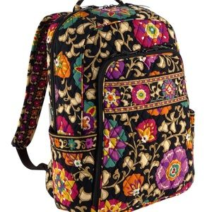 vera bradley laptop backpack suzani print