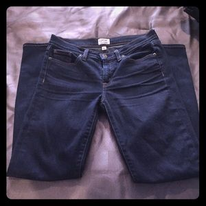 Gently loved JCrew Toothpick jeans