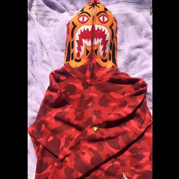 9bafee4e7208 Bape Other - UnionHouse Bape Tiger Hoodie