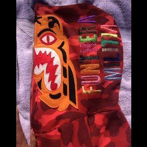 cb3cf38fe186 Bape Jackets   Coats - UnionHouse Bape Tiger Hoodie