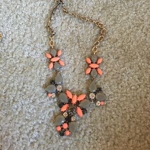 Fall colors J.Crew statement necklace
