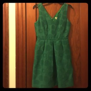Brand new green J Crew dress