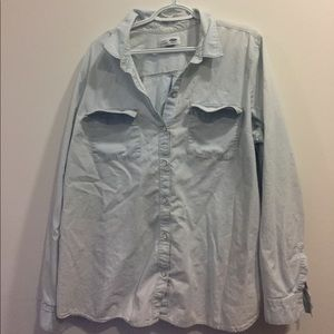 Light Denim/Chambray Button Down