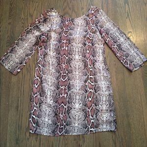 Ark & Co. Snakeskin Shift Dress
