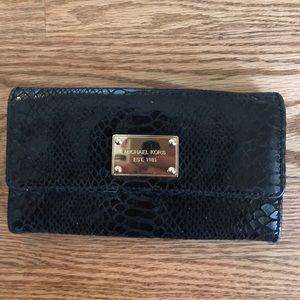 Michael Kors Snakeskin Wallet