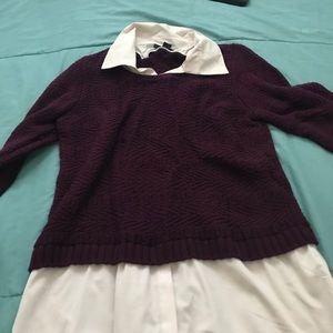 Dressy Burgundy shirt