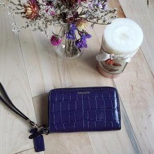 Purple Coach Wallet