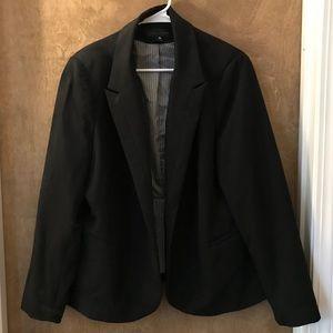 Worthington Black Blazer Size 2X