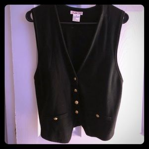 Super cute black vest