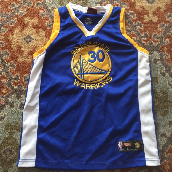 online store c26d5 beace Youth Golden State Warriors Steph Curry 30 Jersey