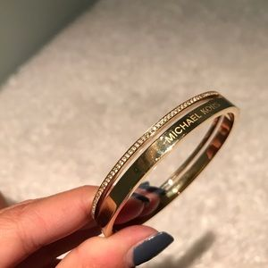 Michael Kors gold bangle