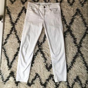 Gap white legging jeans
