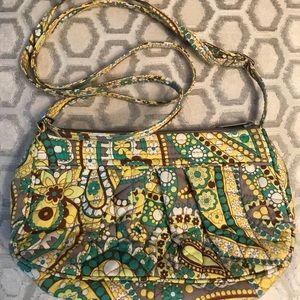 🛍 Vera Bradley Lemon Parfait Cross Body Bag