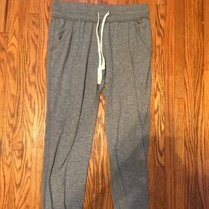 Aerie Gray Jogger Sweatpants (Size small)