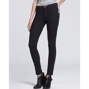 Rag & Bone Jean Black Legging Cut