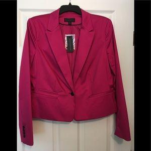 NWT Fuschia pink suit jacket