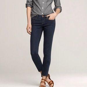 Jcrew toothpick Jeans sz 26 EUC