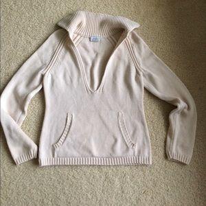 LOFT deep-v sweater