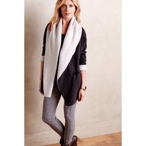 Anthropologie fleece blanket cardigan