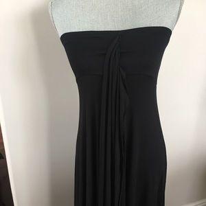 Elan black convertible multi way dress