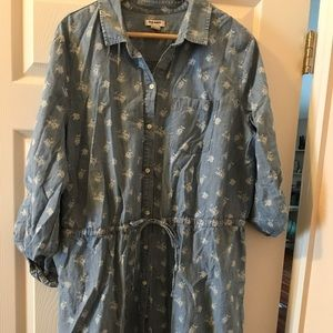 Oldnavy XL button up dress/tunic