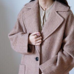 H&M camel pea coat