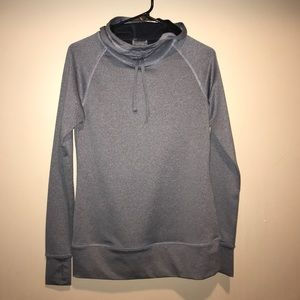 High collar active sweatshirt
