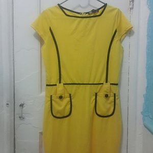 NEW! Yellow, PRETTY  daily  dress.
