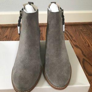 25d2b72166e95 BP Shoes - BP Just Block Heel Bootie Color  Grey Suede