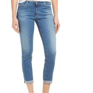 AG Adriano Goldschmied The Stilt roll-up Jeans 24