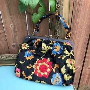 Vintage Purse floral RN