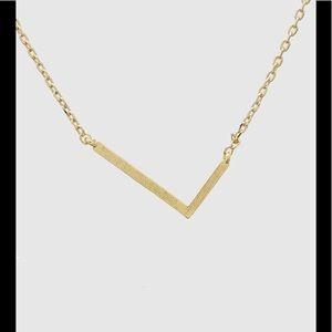 Oblique Letter L Necklace