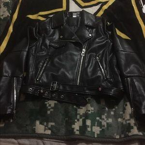 Black H&M Leather Jacket