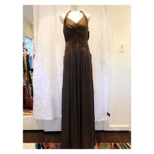 Olive Green Evening Gown!