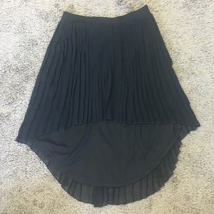 HighLow pleated Mini skirt Size 2