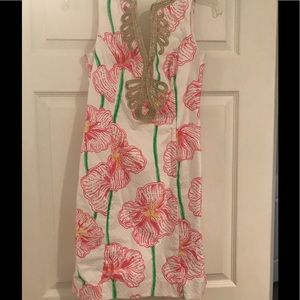 Pink floral Lily Pulitzer Dress