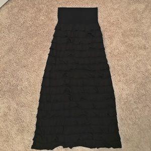 Ruffle maxi skirt - Medium