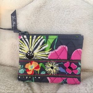 BEAUTIFUL Vera Bradley Floral Zip Pouch