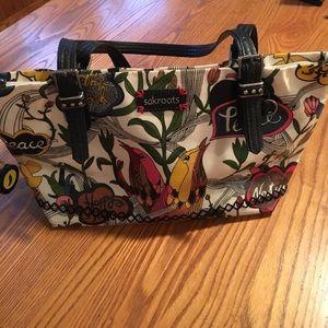 Sakroots purse handbag. The sak