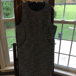 JCrew tweed sheath dress