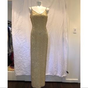 Vintage Sequin Dress!
