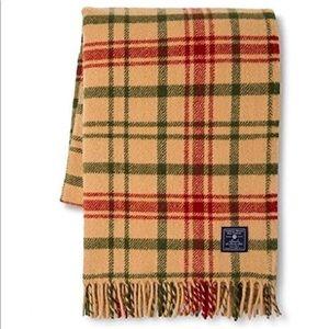 Faribault Wool Throw Blanket Special Edition NWT