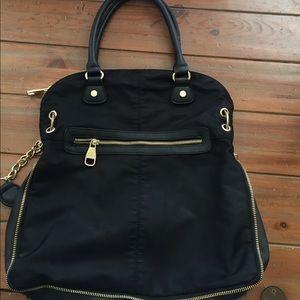 Steve Madden Nylon Handbag, black
