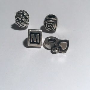 Pandora charms (silver)