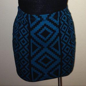 Mini tribal skirt