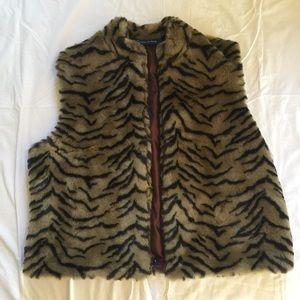 Faux Fur Trendy Vest-XL