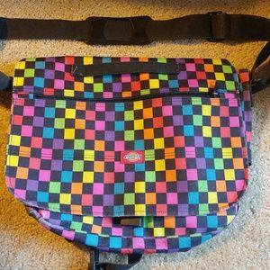 Dickies Yakpak messenger shoulder bag rainbow 🌈