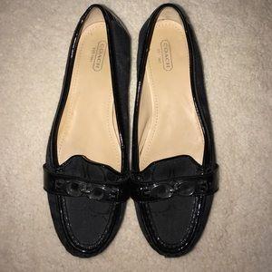 Black Signature Coach Dress Shoes! Eloise Style.